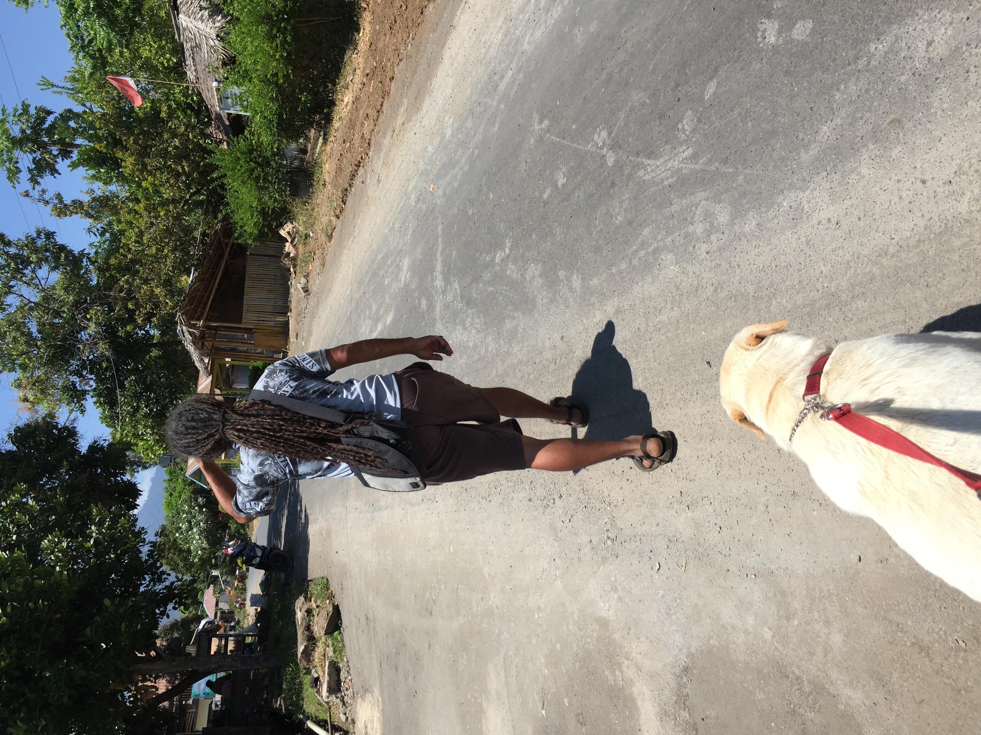 Ollis und Rocko führen uns nach Senaru.