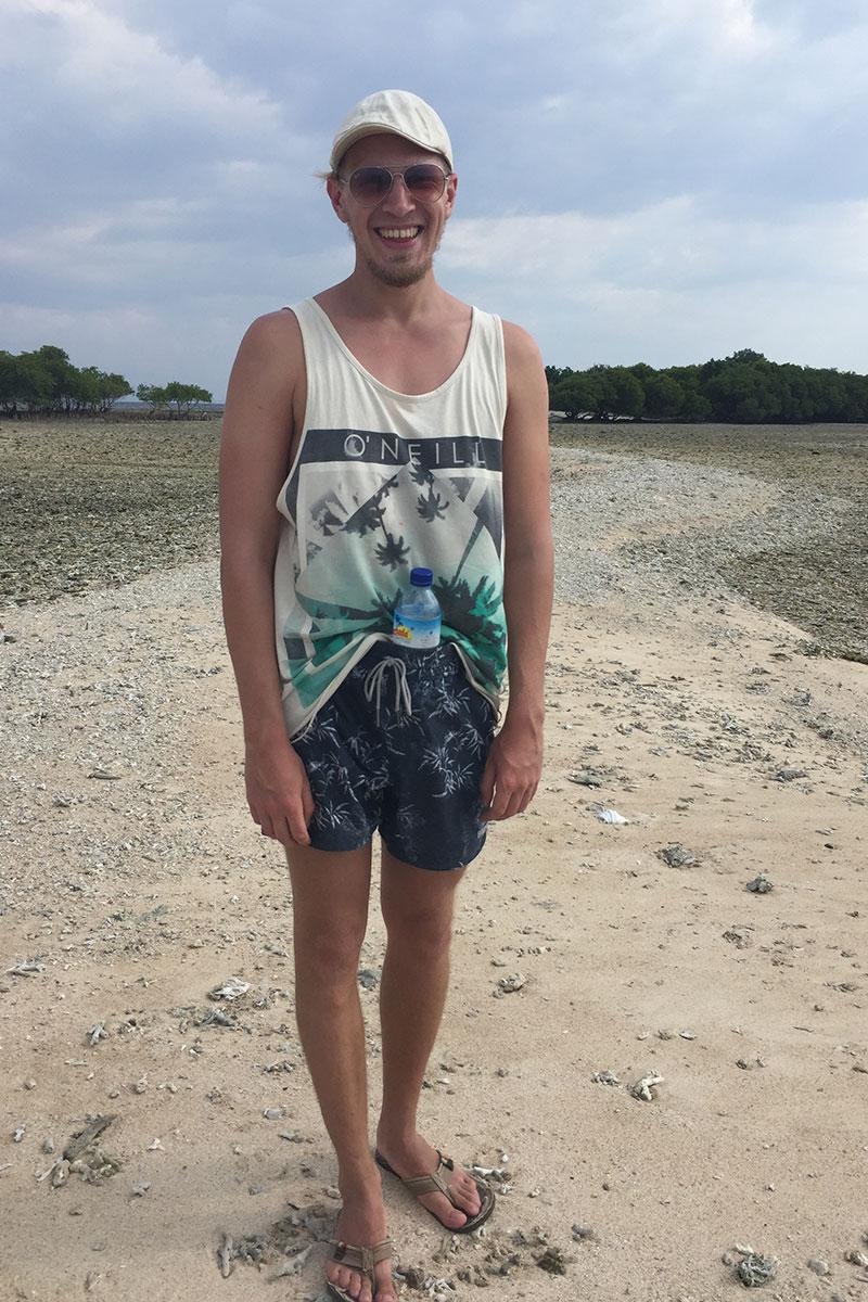 Auf den Gili Inseln trägt man das heute so.