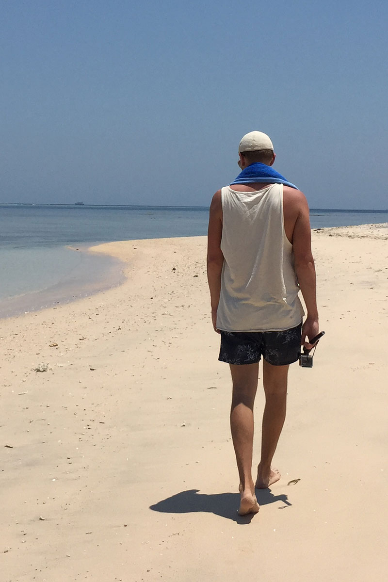 Zeit für lange Strandspaziergänge.