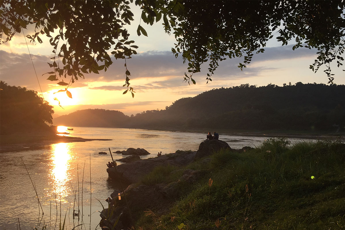 Sonnenuntergang-Luang-Prabang-Laos