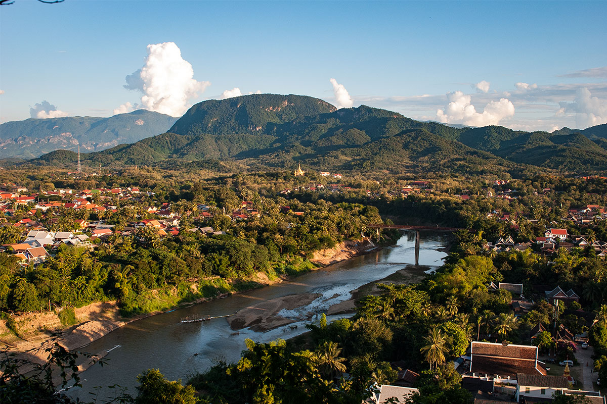 Stadtsicht-Luang-Prabang-Laos