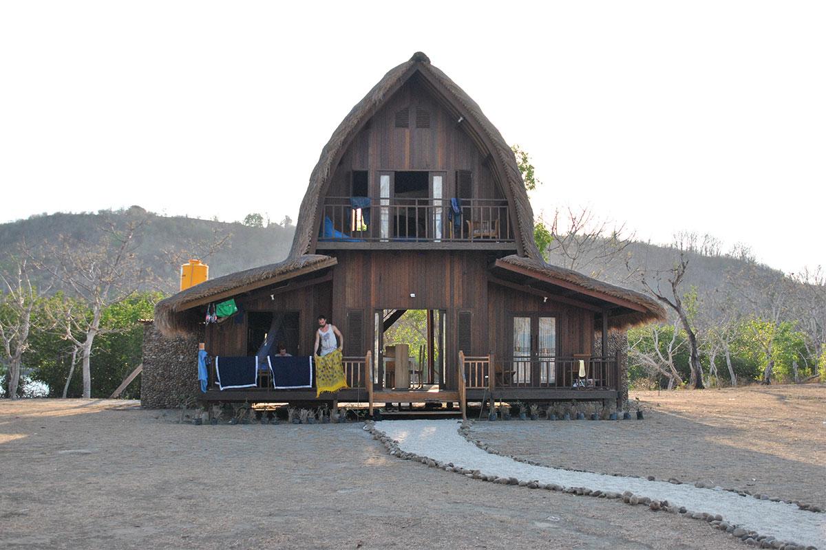 Das niegel-nagel-neue Tamarind Haus.