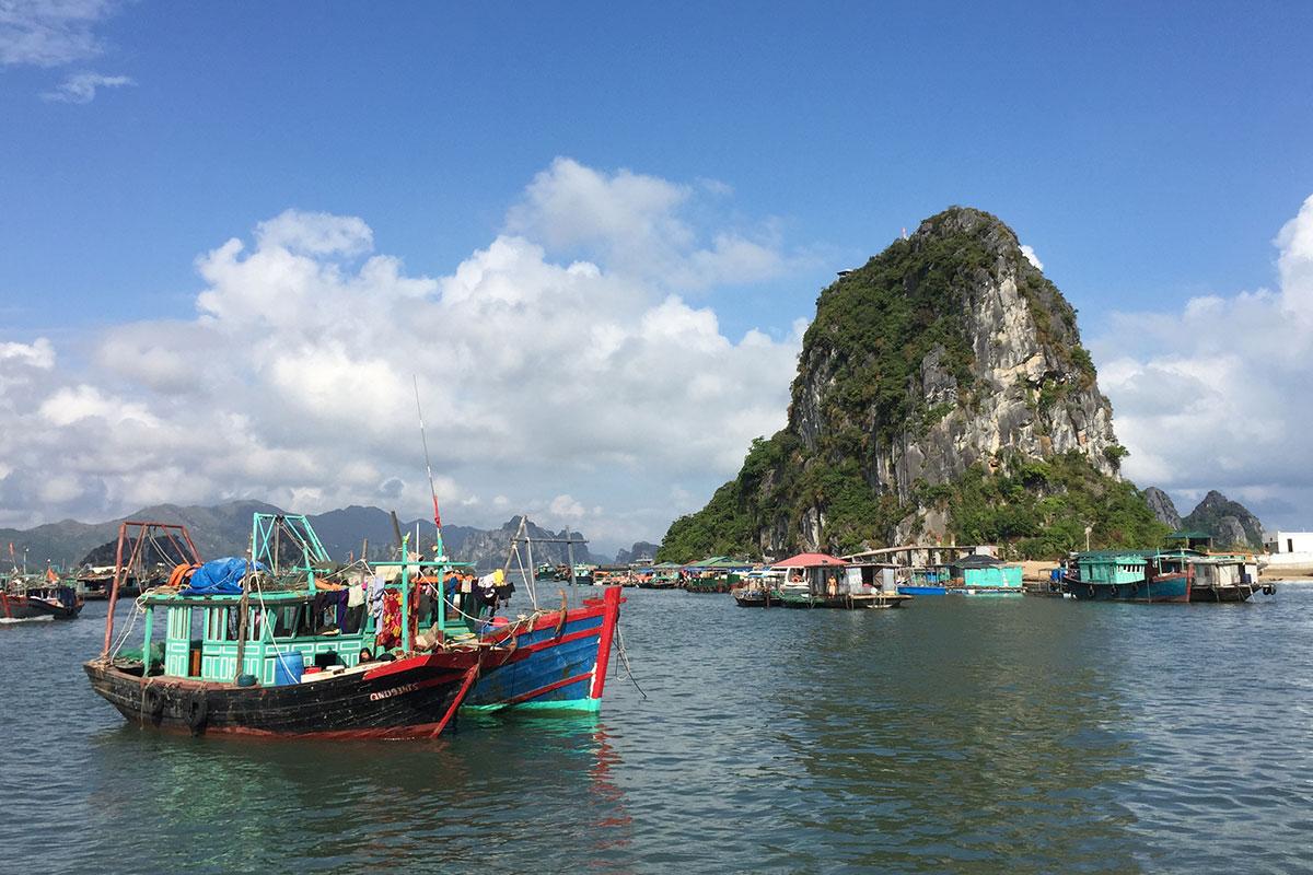 fischerboot-beim-Hafen-bai-tu-long-bay
