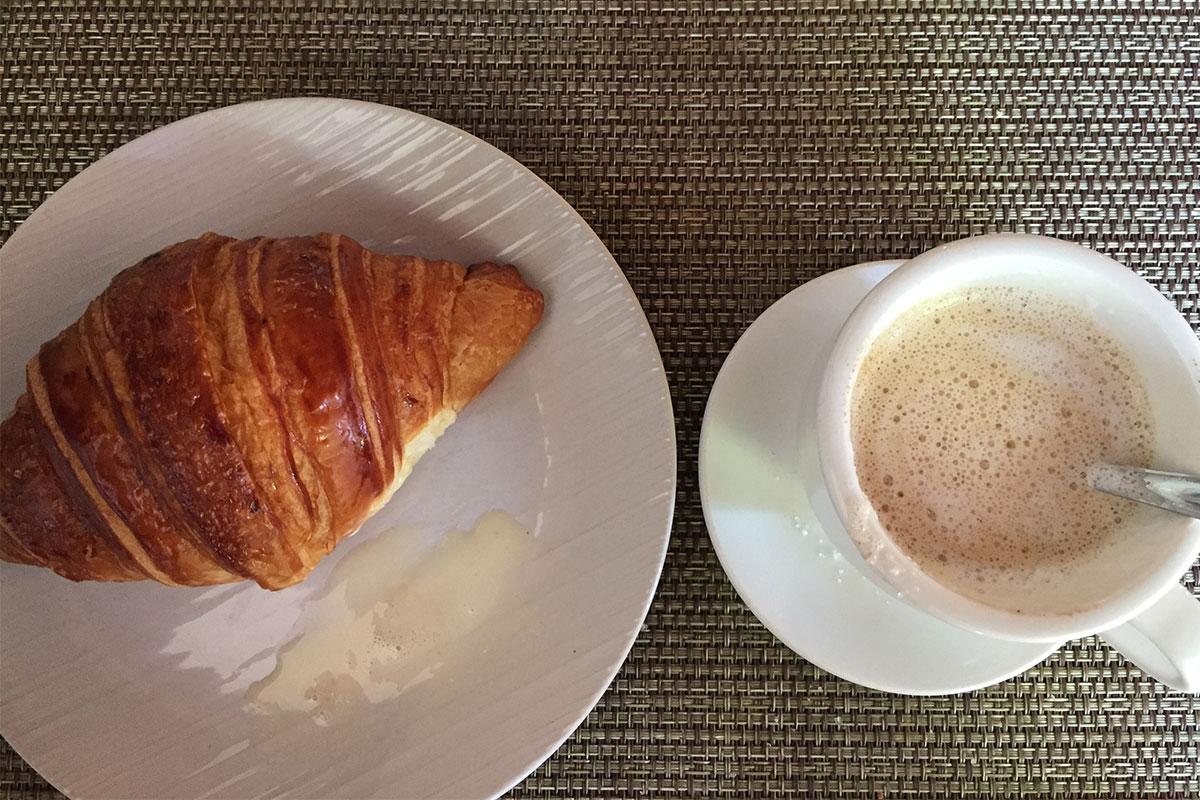 Die besten Croissants außerhalb Frankreichs essen.