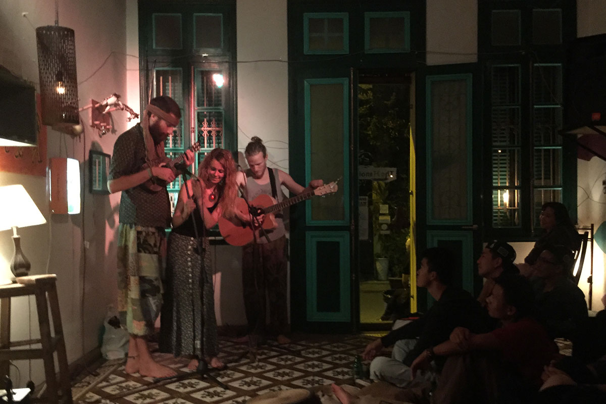 Matt Montez im Hanoi Social Club.