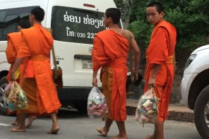 Tak Bat in Laos: Please Don't Feed The Monks!