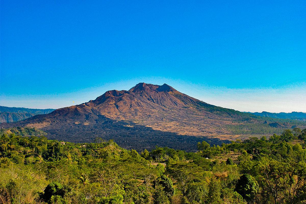 Mount Batur. Welch ein Riese!