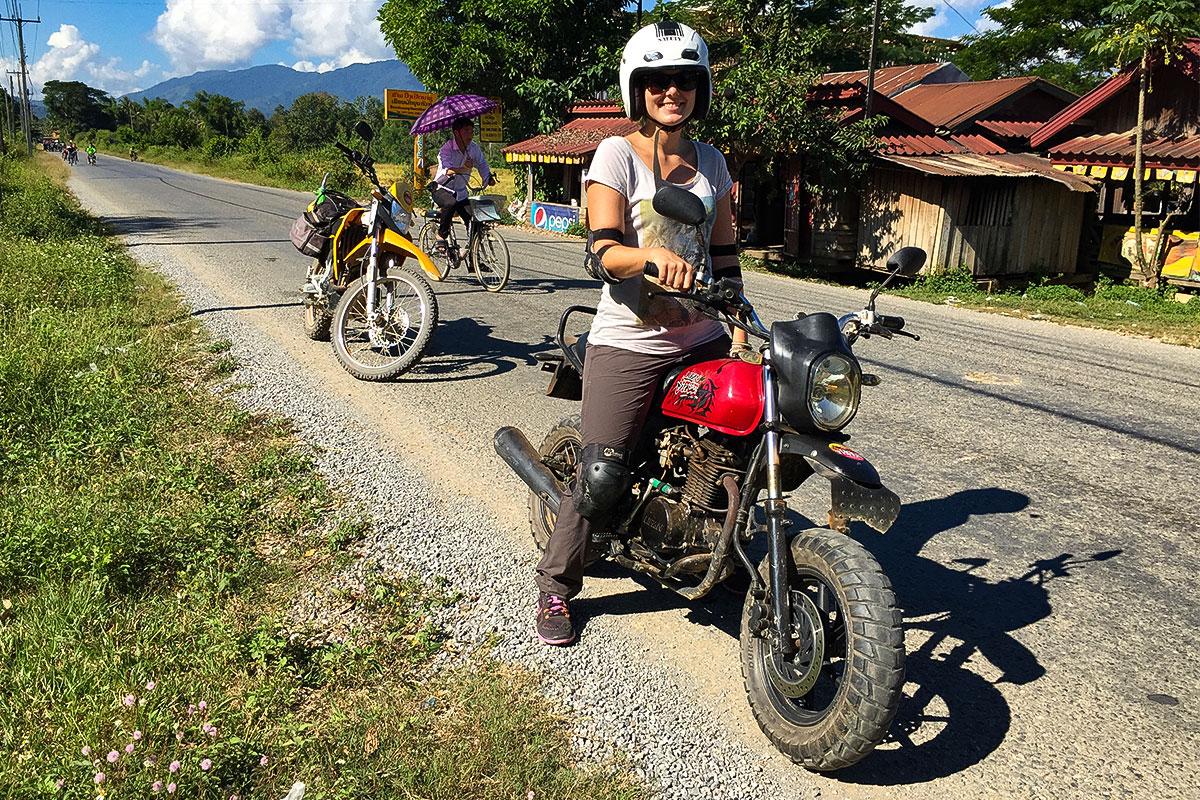 Bikergirl.