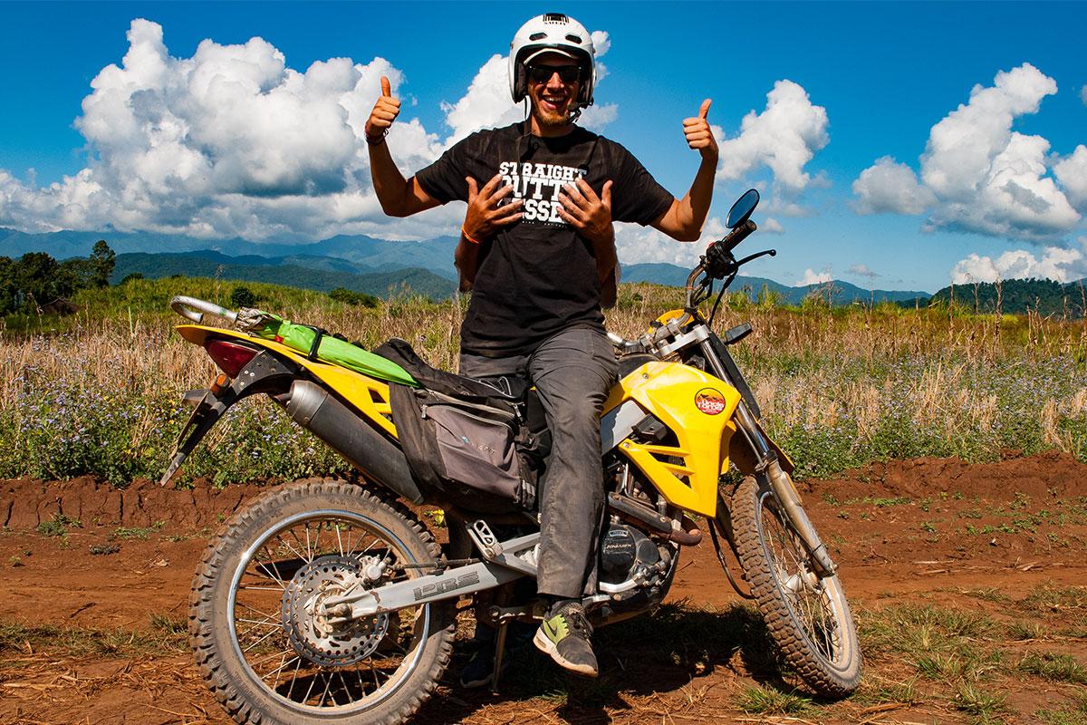 Sexytime aufm Motorrad.