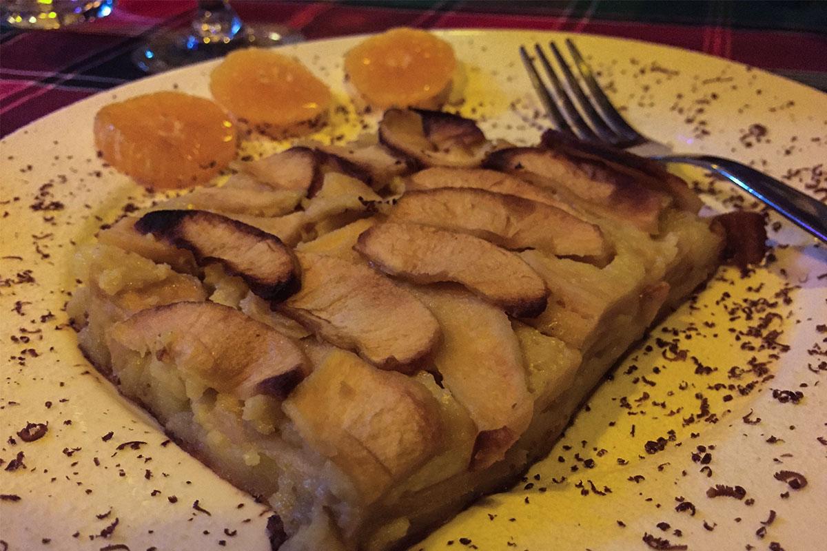 Der leckerste Apfelkuchen, den wir je gegessen haben (außer dem von Mutti).