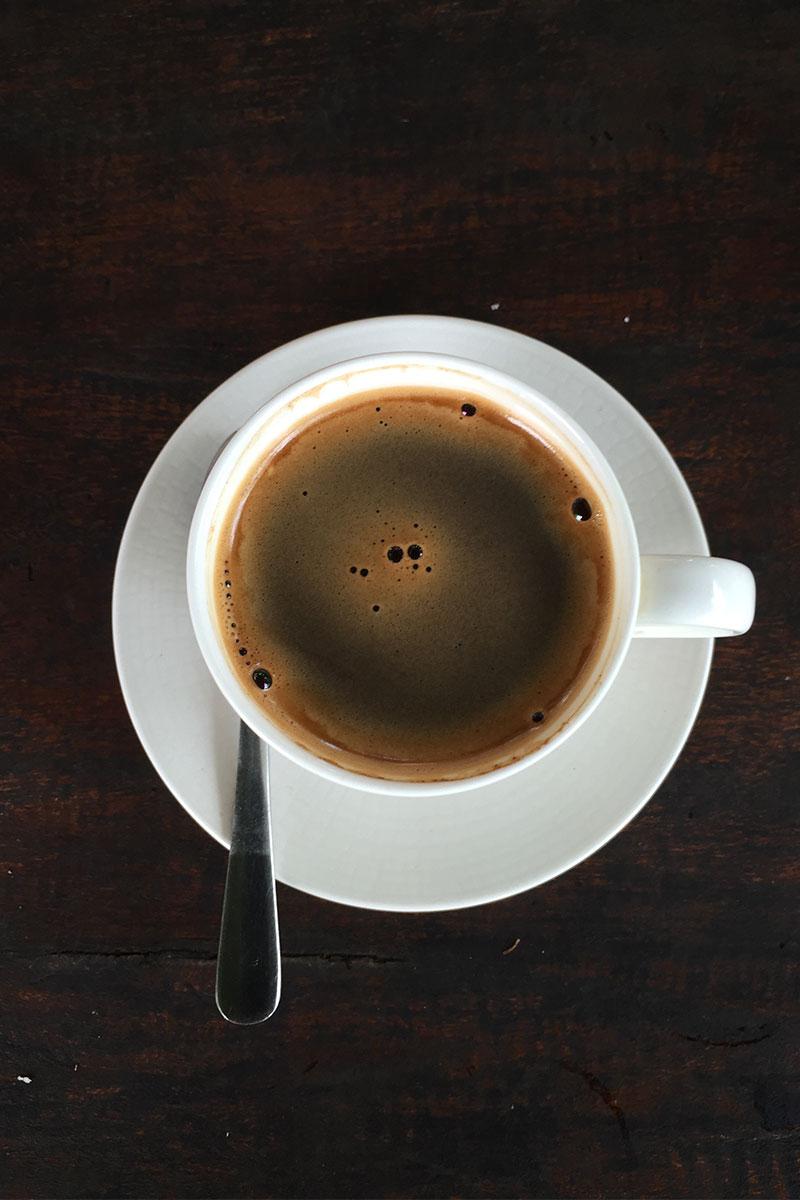 Der teuerte Kaffee der Welt.