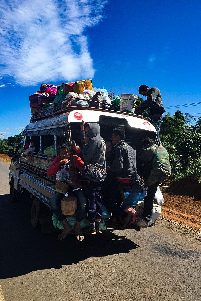 Bus fahren lao-style.