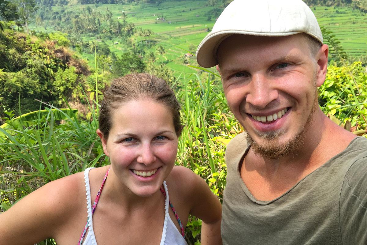 Jan-und-Ich-Reisfeld-Bali-Sidemen
