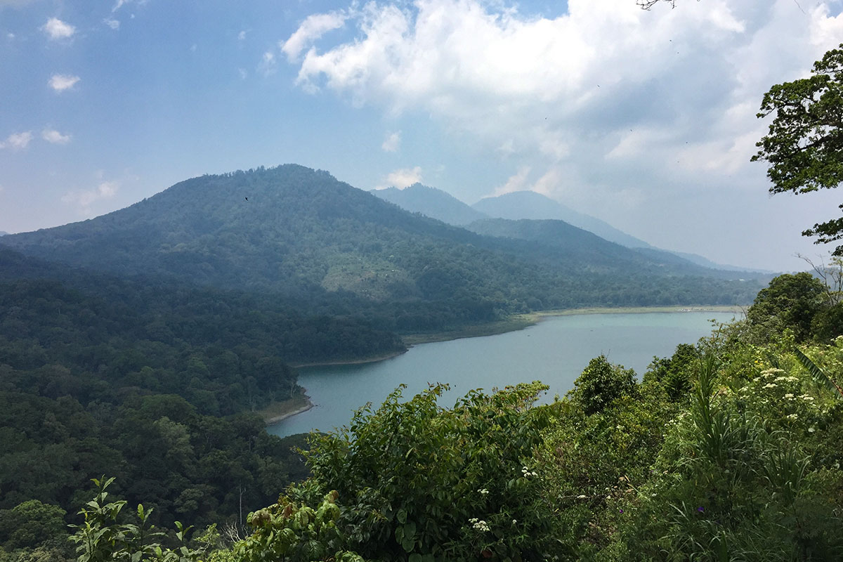 Blick auf den Danau Tamblingan