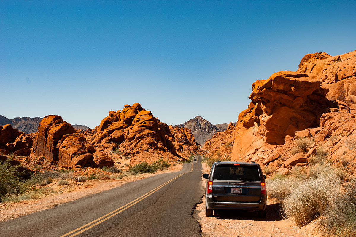 auto-im-valley-of-fire-nevada-usa