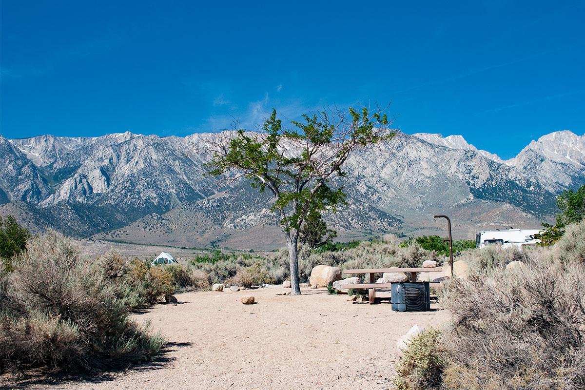 Vielleicht einer der besten Campingplätze der Welt.