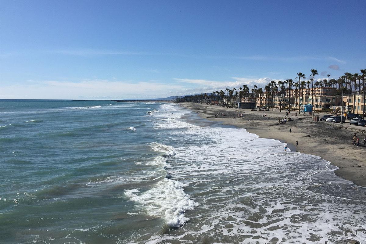 strand-von-ocenaside-usa-kalifornien