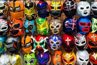 spanische-wrestling-masken-san-francisco-kalifornien-usa