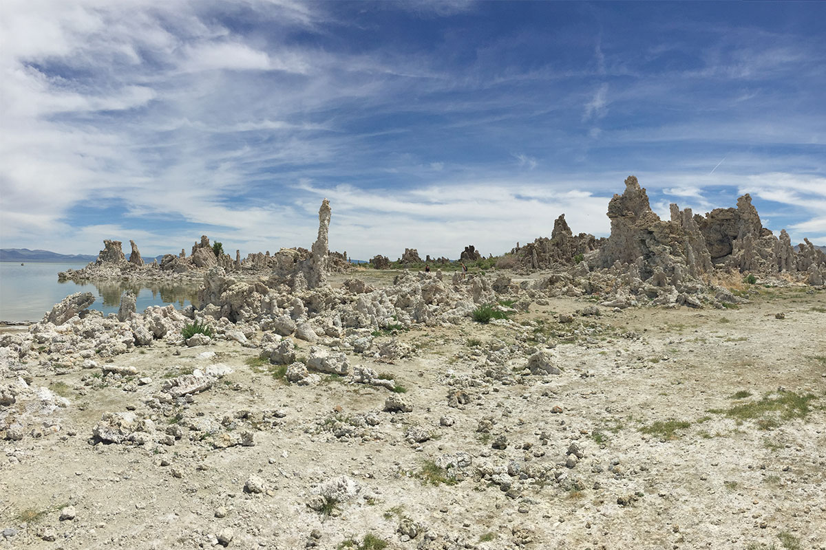 Tufa Tower am Mono Lake.