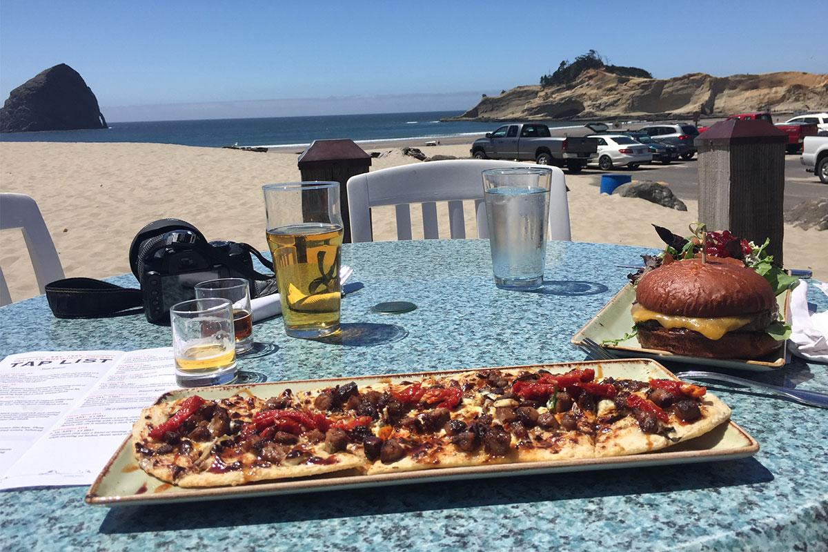 Gutes Essen und ein kostenloses Beer-Tasting in der Pelican Brewerz.