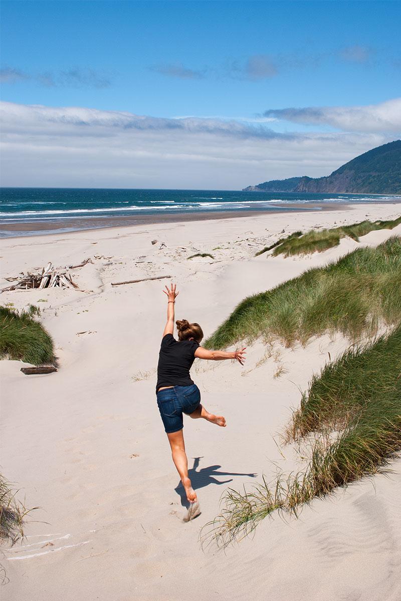 Ein Tag am Strand von Dänemark - gefühlt.