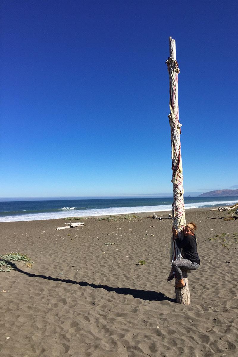 Spielen an der Lost Coast.