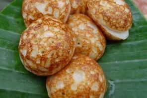 Laotische Kokospfannkuchen